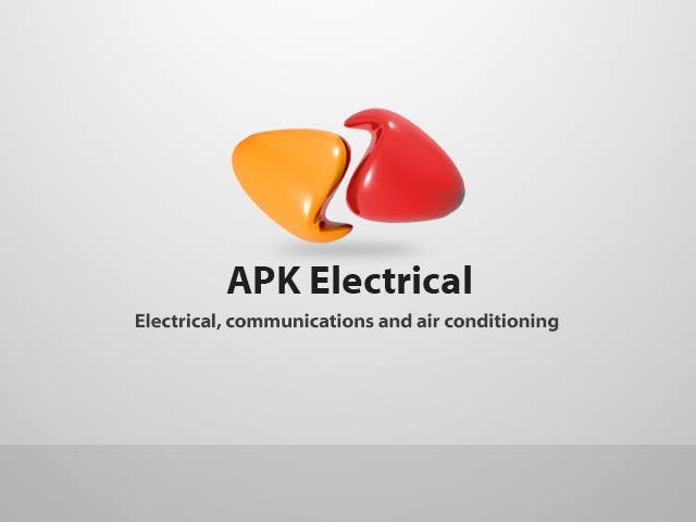 Konkurrenceindlæg #175 for Logo Design for APK Electrical