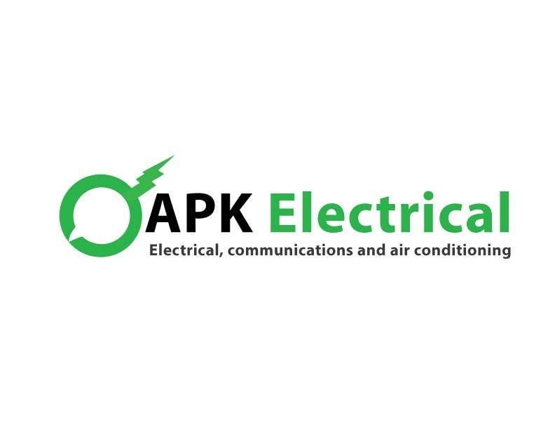 Konkurrenceindlæg #168 for Logo Design for APK Electrical