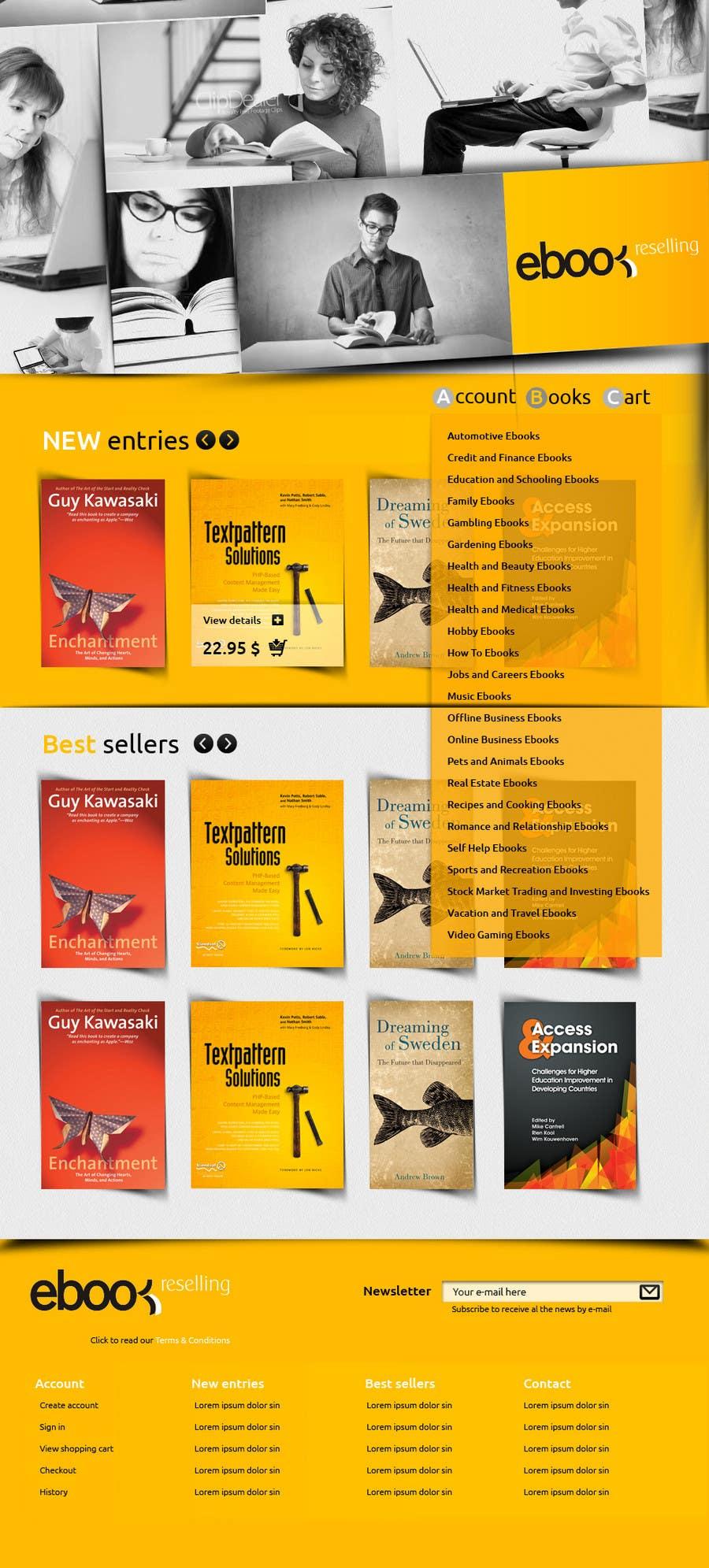 Inscrição nº 11 do Concurso para Website Design for Innovalist