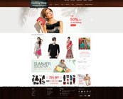 Contest Entry #17 for Design a Website Mockup for ecommerce site dresses and shoes