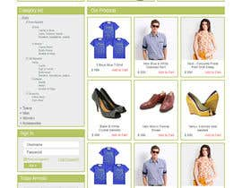 #36 for Design a Website Mockup for ecommerce site dresses and shoes by Ankur0312