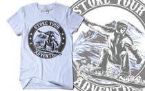 Graphic Design Inscrição do Concurso Nº8 para Alpine Sport T Shirt Design (1 to 3 colors)
