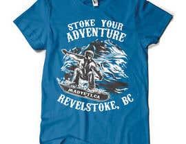 #31 para Alpine Sport T Shirt Design (1 to 3 colors) por valentinmihai07