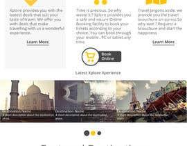 hemchander94 tarafından Design a Website Mockup for travel website için no 14