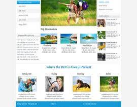 webidea12 tarafından Design a Website Mockup for travel website için no 8