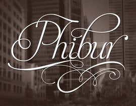#209 for Design a Logo for Phibur Apparel af Mechaion