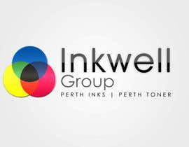 lakekover tarafından Logo Design for Inkwell Group - Perth Inks - Perth Toner için no 385
