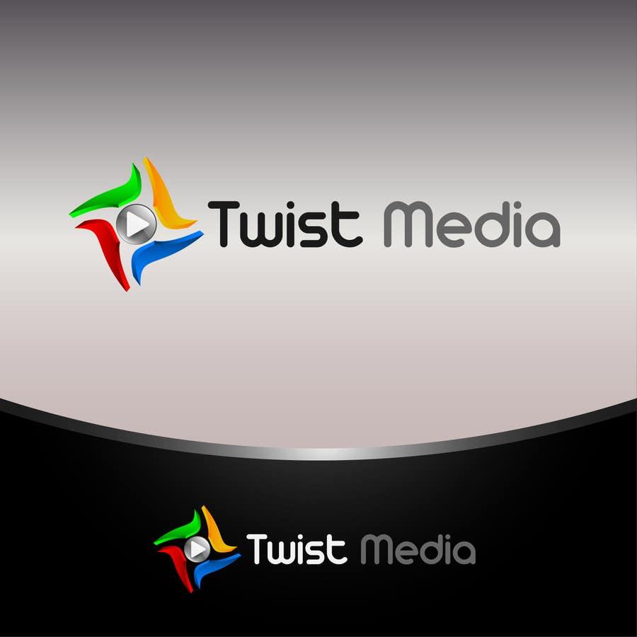 Inscrição nº                                         46                                      do Concurso para                                         Design a Logo for Twist Media