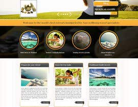 #21 para Design a Wordpress Template for Travel Website por webqueue