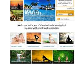 #19 para Design a Wordpress Template for Travel Website por clickinn