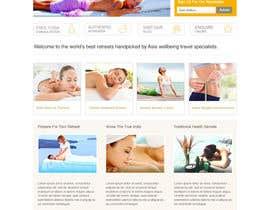#41 para Design a Wordpress Template for Travel Website por clickinn