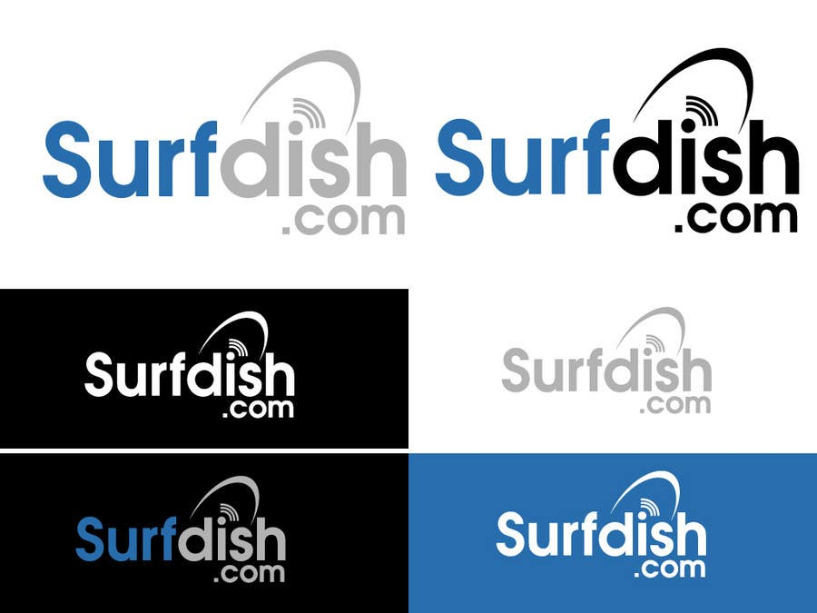 Конкурсная заявка №53 для *** LOGO design for Surfdish.com!