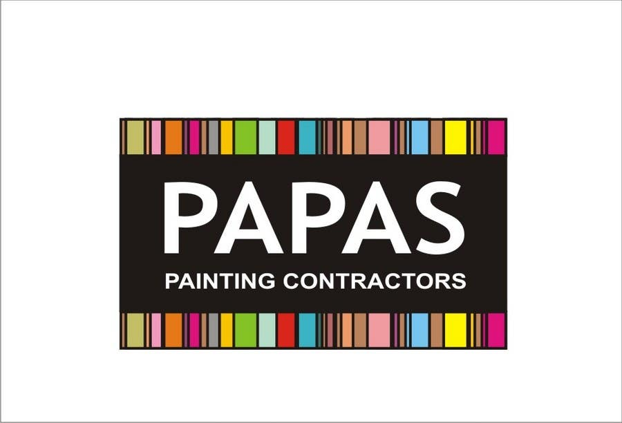 Contest Entry #                                        739                                      for                                         Logo Design for Papas Painting Contractors