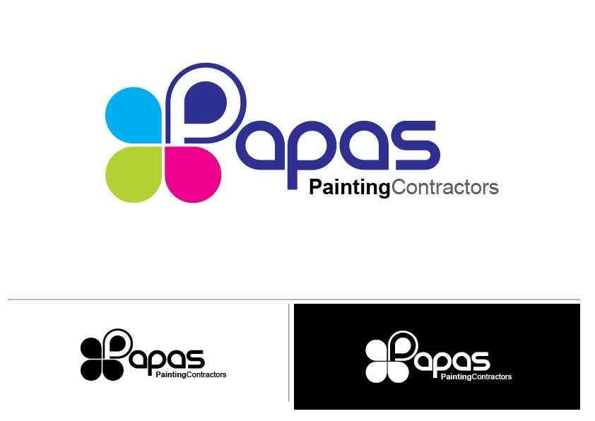 #288 for Logo Design for Papas Painting Contractors by paxslg