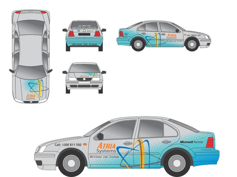 Contest Entry #                                        3                                      for                                         Vehicle Wrap design for Atria Systems