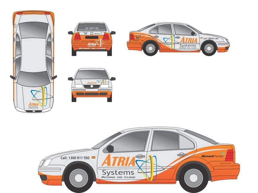 Contest Entry #                                        1                                      for                                         Vehicle Wrap design for Atria Systems