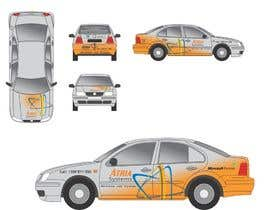 nº 7 pour Vehicle Wrap design for Atria Systems par guppyfish