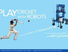 #5 untuk Advertising Poster for Cricket Batting Game Center oleh dsavio