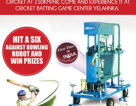 #8 untuk Advertising Poster for Cricket Batting Game Center oleh amcgabeykoon
