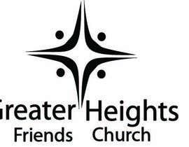 Nro 59 kilpailuun Design a Logo for Greater Heights Friends Church käyttäjältä Rrichards1690