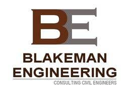 nº 173 pour Logo Design for Blakeman Engineering par SteveReinhart