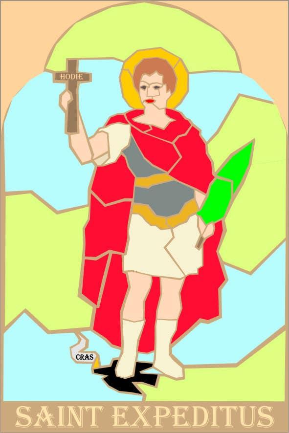 Конкурсная заявка №55 для Graphic Design for Holy Cards
