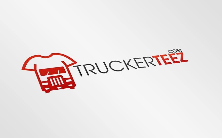 Bài tham dự cuộc thi #                                        12                                      cho                                         Logo Design for TruckerTeez.com