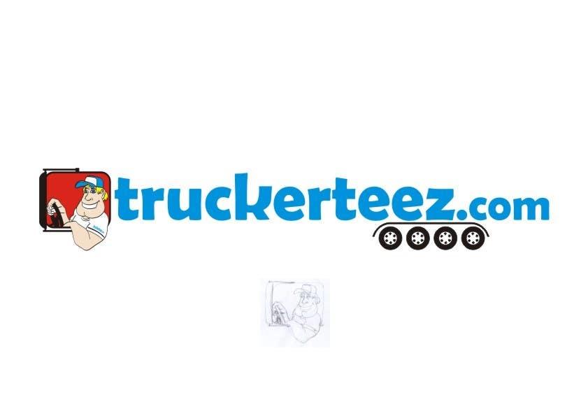 Bài tham dự cuộc thi #                                        18                                      cho                                         Logo Design for TruckerTeez.com