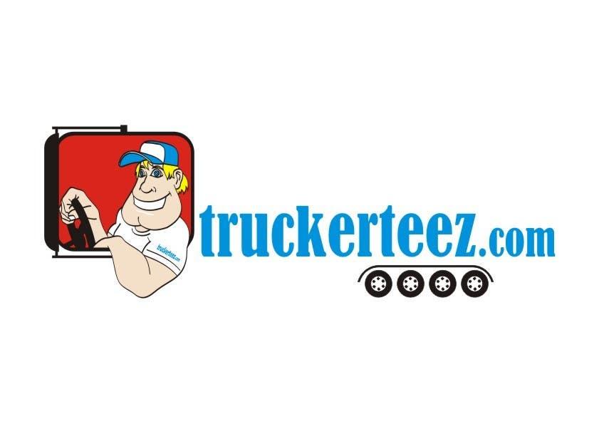 Bài tham dự cuộc thi #                                        21                                      cho                                         Logo Design for TruckerTeez.com