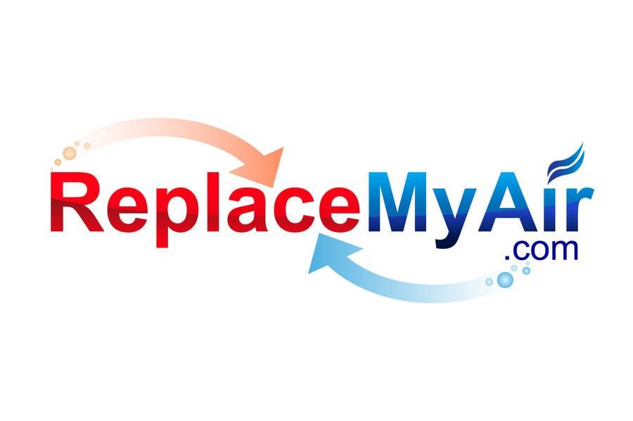 Penyertaan Peraduan #142 untuk Logo Design for Replace My Air .com