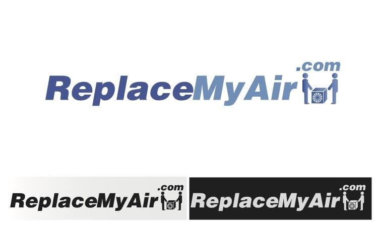 Penyertaan Peraduan #68 untuk Logo Design for Replace My Air .com