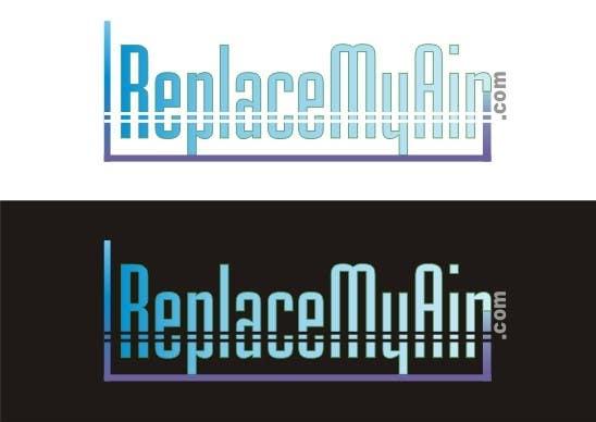 Penyertaan Peraduan #169 untuk Logo Design for Replace My Air .com