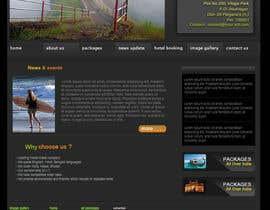 nº 7 pour Design a Website Mockup for ZombDay a Zombie Horror News Website par saikatdutta79