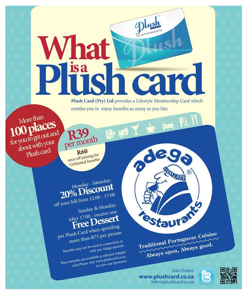 Inscrição nº                                         47                                      do Concurso para                                         Magazine Advert redesign for Plush Card (Pty) Ltd