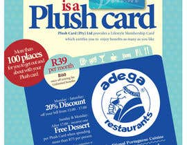 #48 untuk Magazine Advert redesign for Plush Card (Pty) Ltd oleh witelion