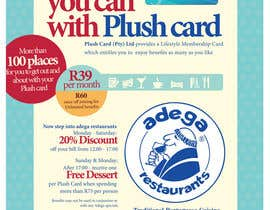 #31 untuk Magazine Advert redesign for Plush Card (Pty) Ltd oleh witelion