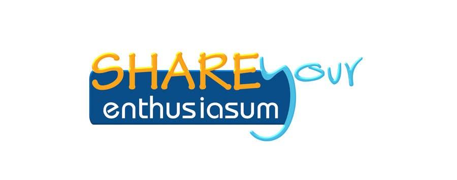 Proposition n°                                        172                                      du concours                                         Logo Design for Share your enthusiasm