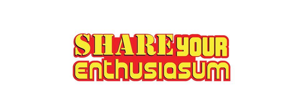 Proposition n°                                        375                                      du concours                                         Logo Design for Share your enthusiasm