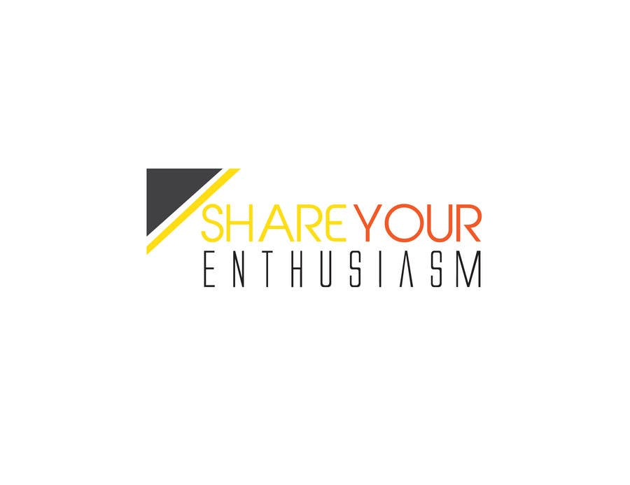Proposition n°                                        116                                      du concours                                         Logo Design for Share your enthusiasm