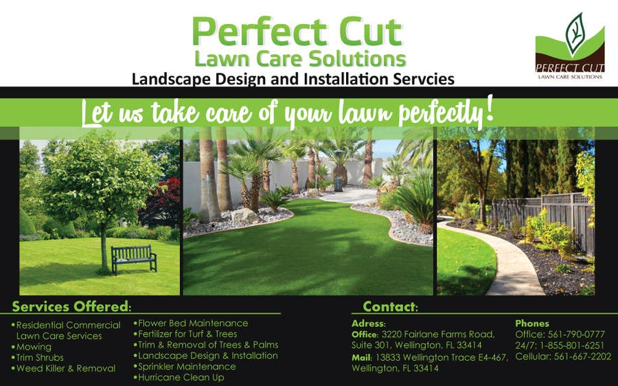 landscaping advertisement