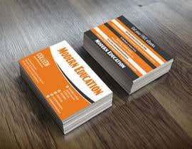 nº 26 pour Design some Business Cards for Modern Education par ccet26