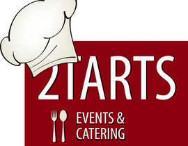 #145 para Logo Design for 2 Tarts Catering and Events por jeans02