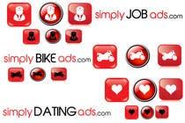 Graphic Design Конкурсная работа №21 для Logo Design for simplyTHEMEWORDads.com (THEMEWORDS: PET, JOB, PROPERTY, BIKE, VEHICLE, DATING)