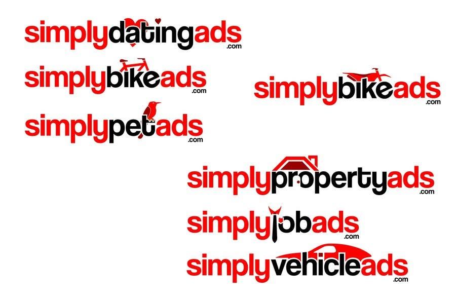 Конкурсная заявка №57 для Logo Design for simplyTHEMEWORDads.com (THEMEWORDS: PET, JOB, PROPERTY, BIKE, VEHICLE, DATING)