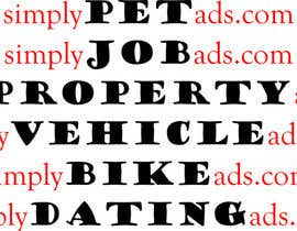 #68 para Logo Design for simplyTHEMEWORDads.com (THEMEWORDS: PET, JOB, PROPERTY, BIKE, VEHICLE, DATING) por CrazzyChris