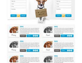 #20 untuk Website Design for Karma Missing Pet Network oleh creativeideas83