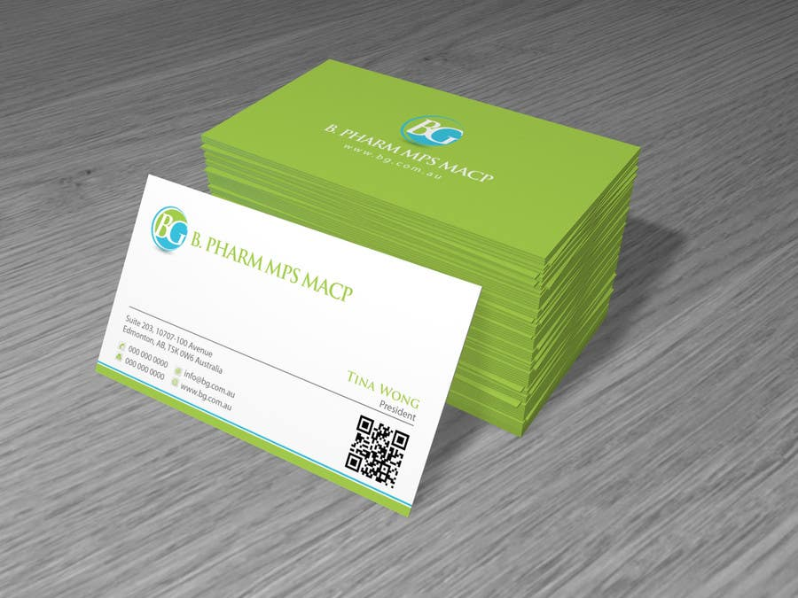 Entry #115 by Brandwar for Personal Business Card Design for Retail ...