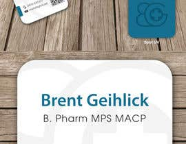 #123 untuk Personal Business Card Design for Retail Pharmacist oleh ipanfreelance