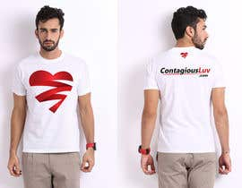 #8 para Design a T-Shirt for Contagious Luv!!! por DesignerCS