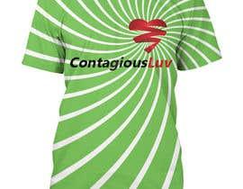#94 para Design a T-Shirt for Contagious Luv!!! por naimishmakawana
